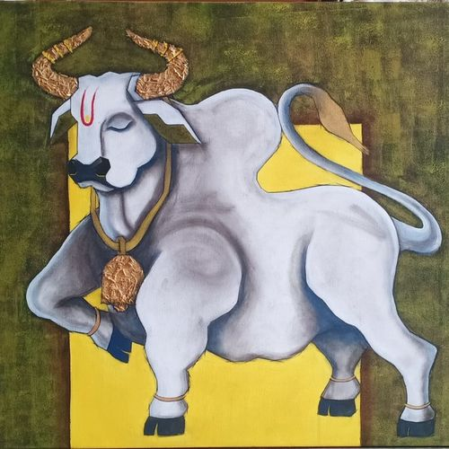 untitled, 36 x 30 inch, shatakshi  sharma,36x30inch,canvas,paintings,abstract paintings,animal paintings,contemporary paintings,paintings for dining room,paintings for living room,paintings for bedroom,paintings for office,paintings for kids room,paintings for hotel,paintings for kitchen,paintings for school,paintings for hospital,acrylic color,wood,GAL0670331719