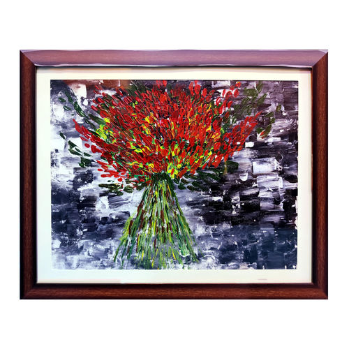 red flowers , 18 x 14 inch, pooja lokhande,18x14inch,canvas,paintings,flower paintings,paintings for dining room,paintings for living room,paintings for bedroom,paintings for office,paintings for hotel,paintings for hospital,paintings for dining room,paintings for living room,paintings for bedroom,paintings for office,paintings for hotel,paintings for hospital,acrylic color,GAL0420531722