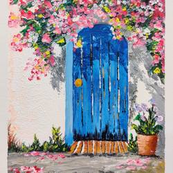 the little door, 8 x 10 inch, sahil jain,8x10inch,canvas,paintings,abstract paintings,paintings for dining room,paintings for living room,paintings for bedroom,paintings for hotel,paintings for kitchen,acrylic color,GAL02013831739