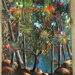 the jungle, 17 x 21 inch, madhulika sureka,17x21inch,canvas,paintings,landscape paintings,modern art paintings,illustration paintings,paintings for dining room,paintings for living room,paintings for bedroom,paintings for office,paintings for bathroom,paintings for kids room,paintings for hotel,paintings for kitchen,paintings for school,paintings for hospital,paintings for dining room,paintings for living room,paintings for office,paintings for kids room,paintings for hotel,paintings for kitchen,paintings for school,paintings for hospital,acrylic color,GAL01933431754