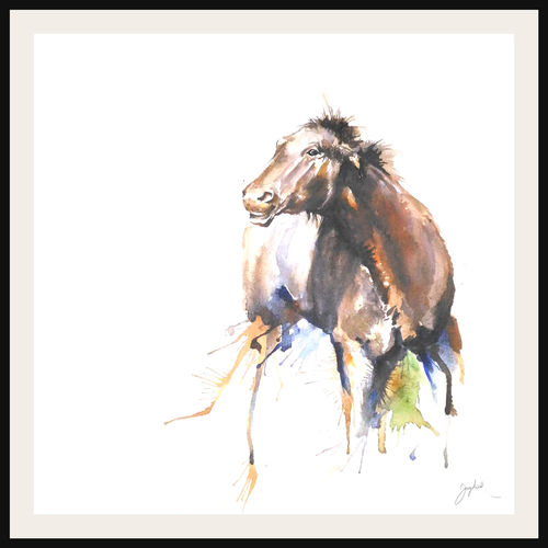 attitude, horse, 12 x 12 inch, jagdish more,12x12inch,fabriano sheet,abstract paintings,illustration paintings,minimalist paintings,animal paintings,horse paintings,paintings for living room,paintings for bedroom,paintings for office,paintings for hotel,paintings for living room,paintings for bedroom,paintings for office,paintings for hotel,acrylic color,GAL01216831779