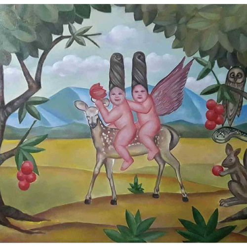 untitled, 24 x 36 inch, balucharan us,24x36inch,canvas,paintings,modern art paintings,oil color,GAL0421731819