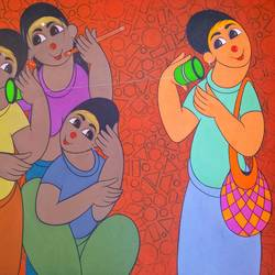 childhood fun, 30 x 24 inch, dnyaneshwar  bembade ,30x24inch,canvas,figurative paintings,paintings for dining room,paintings for living room,paintings for bedroom,paintings for office,paintings for kids room,paintings for hotel,paintings for school,paintings for hospital,paintings for dining room,paintings for living room,paintings for bedroom,paintings for office,paintings for kids room,paintings for hotel,paintings for school,paintings for hospital,acrylic color,GAL046431830