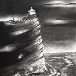lighthouse, 11 x 8 inch, kiran avarsekar,1,paper,paintings,modern art paintings,paintings for dining room,paintings for living room,paintings for bedroom,paintings for office,paintings for bathroom,paintings for kids room,paintings for hotel,paintings for kitchen,paintings for school,paintings for hospital,paintings for dining room,paintings for living room,paintings for bedroom,paintings for office,paintings for bathroom,paintings for kids room.