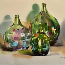 reflection 4, 22 x 15 inch, bijendra  pratap ,22x15inch,fabriano sheet,paintings,still life paintings,paintings for dining room,paintings for living room,paintings for bedroom,paintings for office,paintings for bathroom,paintings for kids room,paintings for hotel,paintings for kitchen,paintings for school,paintings for hospital,watercolor,GAL045331863
