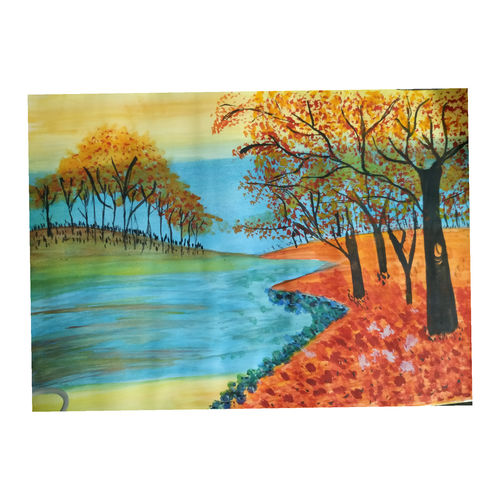 simple landscape, 10 x 16 inch, geeta chauhan,10x16inch,drawing paper,landscape paintings,nature paintings | scenery paintings,paintings for dining room,paintings for living room,paintings for bedroom,paintings for office,paintings for hotel,paintings for hospital,paintings for dining room,paintings for living room,paintings for bedroom,paintings for office,paintings for hotel,paintings for hospital,watercolor,GAL01886131893