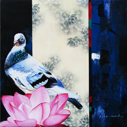 interrelationship, 24 x 24 inch, yogesh verma,24x24inch,canvas,paintings,wildlife paintings,figurative paintings,flower paintings,realism paintings,animal paintings,contemporary paintings,realistic paintings,paintings for dining room,paintings for living room,paintings for bedroom,paintings for office,paintings for kids room,paintings for hotel,paintings for school,paintings for hospital,acrylic color,GAL02021831946