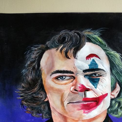 joker-joaquin phoenix, 12 x 17 inch, itishree  sahu,12x17inch,thick paper,abstract paintings,modern art paintings,conceptual paintings,portrait paintings,abstract expressionism paintings,illustration paintings,pop art paintings,contemporary paintings,paintings for living room,paintings for bedroom,paintings for office,paintings for bathroom,paintings for kids room,paintings for hotel,paintings for school,paintings for living room,paintings for bedroom,paintings for office,paintings for bathroom,paintings for kids room,paintings for hotel,paintings for school,acrylic color,paper,GAL01387331966