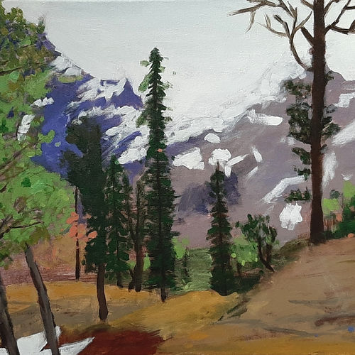himachal forest, 24 x 18 inch, tejal bhagat,24x18inch,canvas,paintings,landscape paintings,nature paintings | scenery paintings,expressionism paintings,impressionist paintings,photorealism paintings,realistic paintings,paintings for dining room,paintings for living room,paintings for bedroom,paintings for office,paintings for hotel,paintings for hospital,paintings for dining room,paintings for living room,paintings for bedroom,paintings for office,paintings for hotel,paintings for hospital,acrylic color,GAL02041531991