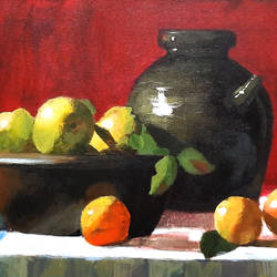 still life 01, 22 x 15 inch, tejal bhagat,22x15inch,canvas,paintings,still life paintings,expressionism paintings,impressionist paintings,realistic paintings,paintings for dining room,paintings for living room,paintings for bedroom,paintings for office,paintings for hotel,paintings for kitchen,paintings for school,paintings for hospital,acrylic color,GAL02041531997