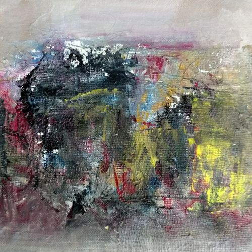 abstract love , 12 x 9 inch, girish chandra vidyaratna,paintings for living room,abstract paintings,paintings for dining room,paintings for bedroom,paintings for office,paintings for bathroom,paintings for kids room,paintings for hotel,paintings for kitchen,canvas,acrylic color,12x9inch,GAL0363203