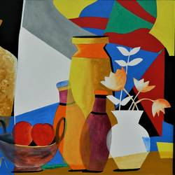 composition-5, 40 x 30 inch, rajeev sarkar,40x30inch,canvas,paintings,abstract paintings,acrylic color,GAL02046732061