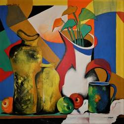 composition-6, 36 x 36 inch, rajeev sarkar,36x36inch,canvas,paintings,abstract paintings,acrylic color,GAL02046732063