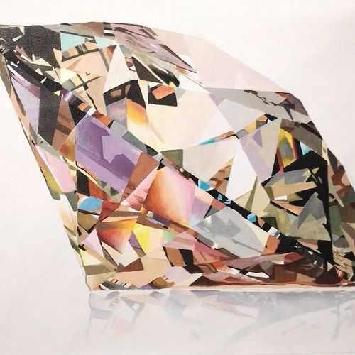 diamond of prestige, 23 x 15 inch, md moin ,23x15inch,canvas,modern art paintings,paintings for living room,paintings for living room,acrylic color,GAL01096032097