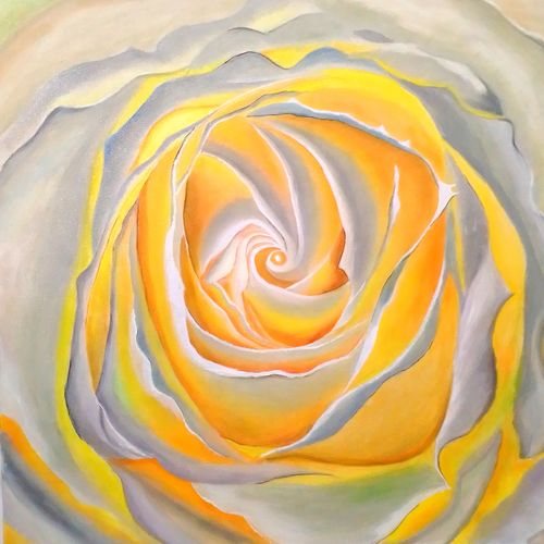 secrets of rose, 24 x 24 inch, md moin ,24x24inch,canvas,paintings,modern art paintings,paintings for living room,oil color,GAL01096032098