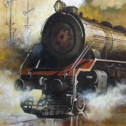 nostalgia of steam locomotives 17, 44 x 33 inch, kishore pratim biswas,44x33inch,canvas,cityscape paintings,landscape paintings,modern art paintings,impressionist paintings,contemporary paintings,realistic paintings,paintings for dining room,paintings for living room,paintings for office,paintings for hotel,paintings for school,paintings for dining room,paintings for living room,paintings for office,paintings for hotel,paintings for school,acrylic color,GAL0106032124