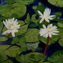 white lotus, 12 x 12 inch, tejal bhagat,12x12inch,canvas board,paintings,flower paintings,landscape paintings,nature paintings | scenery paintings,photorealism,realism paintings,realistic paintings,paintings for dining room,paintings for living room,paintings for bedroom,paintings for office,paintings for bathroom,paintings for kids room,paintings for hotel,paintings for kitchen,paintings for school,paintings for hospital,acrylic color,GAL02041532137