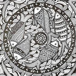 madhubani meena, 8 x 12 inch, sailaja  balgeri,8x12inch,paper,drawings,fine art drawings,paintings for living room,paintings for office,paintings for hotel,paintings for school,pen color,GAL01586232156