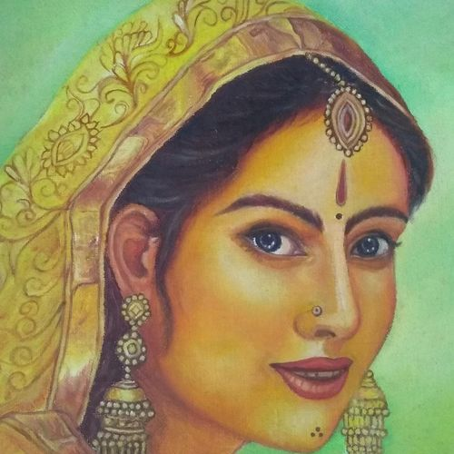 woman, 12 x 12 inch, jyoti manani,12x12inch,canvas,pop art paintings,paintings for office,paintings for hotel,paintings for office,paintings for hotel,acrylic color,oil color,GAL02051932160