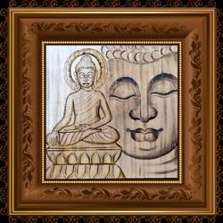 lord buddha , 18 x 14 inch, ajay mishra,18x14inch,canvas,paintings,buddha paintings,oil color,GAL02057232201