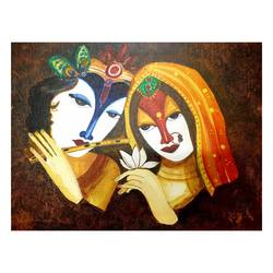 divine lover, 16 x 12 inch, nupur  gupta ,16x12inch,canvas,modern art paintings,religious paintings,radha krishna paintings,contemporary paintings,love paintings,paintings for dining room,paintings for living room,paintings for bedroom,paintings for office,paintings for hotel,paintings for dining room,paintings for living room,paintings for bedroom,paintings for office,paintings for hotel,acrylic color,GAL02066232334