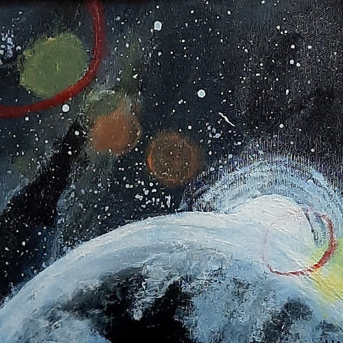 planet, 8 x 8 inch, tejal bhagat,8x8inch,canvas board,paintings,abstract paintings,nature paintings | scenery paintings,abstract expressionism paintings,expressionism paintings,illustration paintings,impressionist paintings,photorealism paintings,photorealism,realism paintings,surrealism paintings,contemporary paintings,paintings for dining room,paintings for living room,paintings for bedroom,paintings for office,paintings for bathroom,paintings for kids room,paintings for hotel,paintings for kitchen,paintings for school,paintings for hospital,acrylic color,GAL02041532394