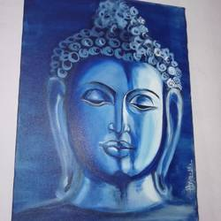 budhha , 11 x 16 inch, arya  maurya ,11x16inch,canvas,paintings,buddha paintings,acrylic color,GAL02070532441