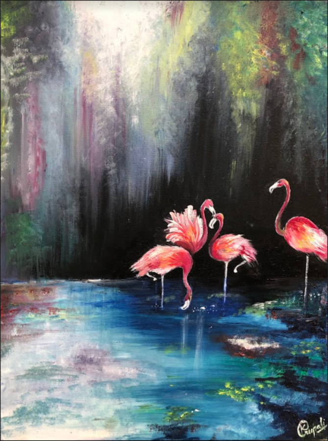 flamingo, 18 x 24 inch, krupali sutariya,18x24inch,canvas,paintings,abstract paintings,wildlife paintings,modern art paintings,conceptual paintings,nature paintings | scenery paintings,animal paintings,paintings for dining room,paintings for living room,paintings for bedroom,paintings for office,paintings for bathroom,paintings for kids room,paintings for hotel,paintings for school,paintings for hospital,paintings for dining room,paintings for living room,paintings for bedroom,paintings for office,paintings for bathroom,paintings for kids room,paintings for hotel,paintings for school,paintings for hospital,oil color,GAL02077032510