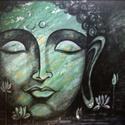 buddha, 20 x 16 inch, krupali sutariya,20x16inch,canvas,abstract paintings,buddha paintings,figurative paintings,modern art paintings,conceptual paintings,religious paintings,photorealism paintings,realism paintings,paintings for dining room,paintings for living room,paintings for office,paintings for kids room,paintings for hotel,paintings for school,paintings for hospital,paintings for dining room,paintings for living room,paintings for office,paintings for kids room,paintings for hotel,paintings for school,paintings for hospital,acrylic color,GAL02077032514