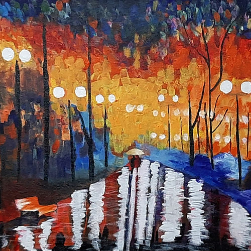 night astract, 24 x 16 inch, tejal bhagat,24x16inch,canvas,paintings,abstract paintings,figurative paintings,flower paintings,landscape paintings,modern art paintings,conceptual paintings,nature paintings | scenery paintings,abstract expressionism paintings,expressionism paintings,illustration paintings,impressionist paintings,photorealism paintings,photorealism,realism paintings,surrealism paintings,love paintings,paintings for dining room,paintings for living room,paintings for bedroom,paintings for office,paintings for bathroom,paintings for kids room,paintings for hotel,paintings for kitchen,paintings for school,paintings for hospital,acrylic color,GAL02041532519