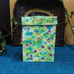 storage  box eco-friendly craft , 10 x 12 inch, pooja lokhande,10x12inch,hardboard,handicrafts,vases,mugs,acrylic color,paper,GAL0420532533