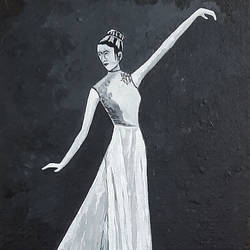 dancing lady, 12 x 16 inch, tejal bhagat,12x16inch,canvas board,paintings,figurative paintings,folk art paintings,conceptual paintings,religious paintings,portrait paintings,expressionism paintings,impressionist paintings,photorealism paintings,photorealism,realism paintings,surrealism paintings,realistic paintings,love paintings,paintings for dining room,paintings for living room,paintings for bedroom,paintings for office,paintings for hotel,paintings for kitchen,paintings for school,paintings for hospital,acrylic color,GAL02041532570