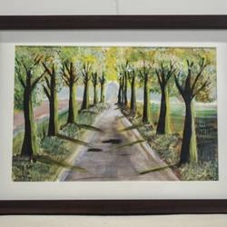 road that no one's taken, 15 x 10 inch, anu ranganath,15x10inch,canvas,paintings,landscape paintings,acrylic color,GAL01706332610