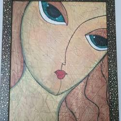 morden art, 12 x 16 inch, shambhavi mishra mishra,12x16inch,canvas board,paintings,figurative paintings,paintings for dining room,paintings for living room,paintings for bedroom,acrylic color,mixed media,GAL01966832771