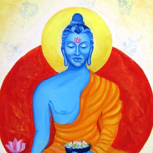 medicine buddha, 24 x 36 inch, sheetal chaudhary,24x36inch,canvas board,paintings,buddha paintings,figurative paintings,paintings for dining room,paintings for living room,paintings for office,paintings for kids room,paintings for hotel,paintings for school,paintings for hospital,paintings for dining room,paintings for living room,paintings for office,paintings for kids room,paintings for hotel,paintings for school,paintings for hospital,acrylic color,GAL01560332826