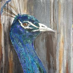 royal peacock , 40 x 50 inch, kartika ravi,40x50inch,canvas board,paintings,wildlife paintings,nature paintings | scenery paintings,art deco paintings,paintings for dining room,paintings for living room,paintings for bedroom,paintings for office,paintings for hotel,paintings for dining room,paintings for living room,paintings for bedroom,paintings for office,paintings for hotel,acrylic color,oil color,GAL02101732869