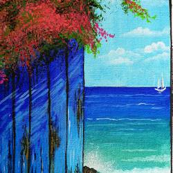 sea beach, 8 x 10 inch, lipsha sahoo,8x10inch,canvas board,paintings,nature paintings | scenery paintings,acrylic color,GAL01763532892