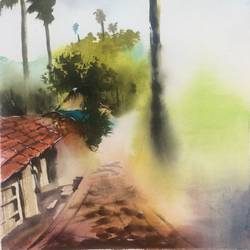 original watercolour painting, 13 x 21 inch, dipankar  biswas,13x21inch,handmade paper,paintings,landscape paintings,nature paintings | scenery paintings,impressionist paintings,minimalist paintings,paintings for dining room,paintings for living room,paintings for bedroom,paintings for office,paintings for hotel,paintings for dining room,paintings for living room,paintings for bedroom,paintings for office,paintings for hotel,watercolor,paper,GAL0293232905