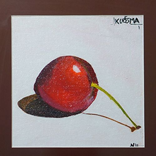 red cherry, 6 x 6 inch, neha  gupta,6x6inch,canvas,paintings,modern art paintings,conceptual paintings,still life paintings,paintings for dining room,paintings for living room,paintings for hotel,paintings for kitchen,paintings for school,paintings for dining room,paintings for living room,paintings for hotel,paintings for kitchen,paintings for school,acrylic color,GAL02043232912