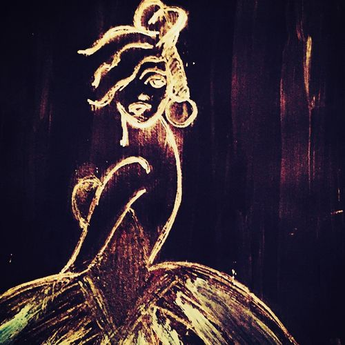 abstract lady artwork , 35 x 25 inch, sarmistha nanda,35x25inch,drawing paper,paintings,abstract paintings,modern art paintings,paintings for dining room,paintings for living room,paintings for bedroom,paintings for hotel,mixed media,paper,GAL02064632989