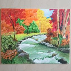 river, 16 x 20 inch, vidhya gunasekaran,16x20inch,canvas,landscape paintings,nature paintings | scenery paintings,paintings for dining room,paintings for living room,paintings for bedroom,paintings for office,paintings for hotel,paintings for hospital,paintings for dining room,paintings for living room,paintings for bedroom,paintings for office,paintings for hotel,paintings for hospital,acrylic color,GAL02120732997