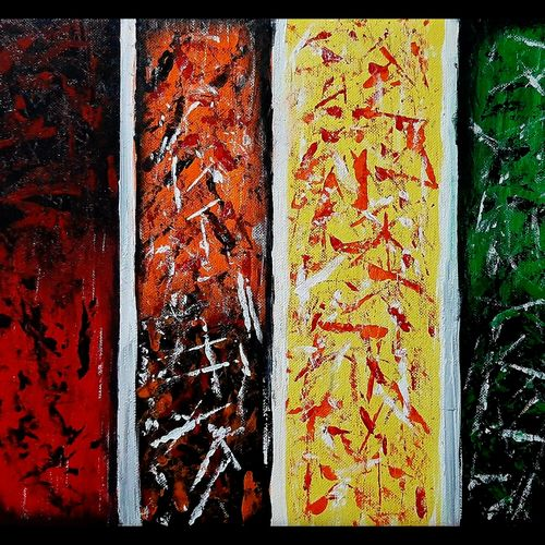 abstract colorful horizon, 16 x 12 inch, shashwat srivastava,16x12inch,canvas,paintings,abstract paintings,figurative paintings,modern art paintings,conceptual paintings,abstract expressionism paintings,art deco paintings,expressionism paintings,illustration paintings,contemporary paintings,paintings for dining room,paintings for living room,paintings for office,paintings for hotel,paintings for school,paintings for hospital,acrylic color,poster color,watercolor,GAL02133133183