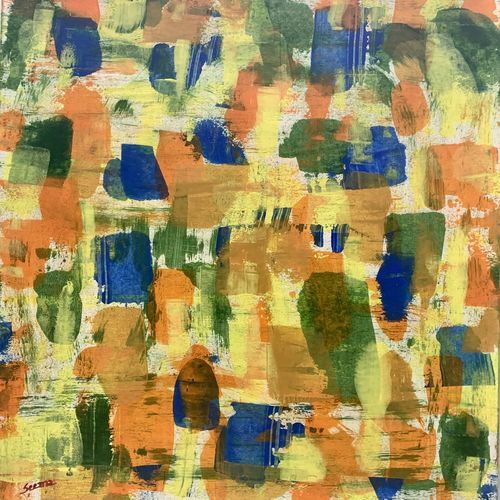 outside my window, 15 x 22 inch, seema kaushik,15x22inch,thick paper,paintings,abstract paintings,paintings for living room,paintings for bedroom,paintings for office,paintings for bathroom,paintings for kids room,paintings for hotel,paintings for hospital,acrylic color,GAL02155433321