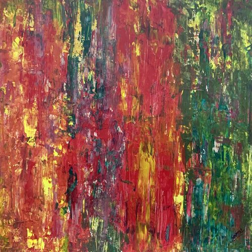 vivid emotions, 15 x 22 inch, seema kaushik,15x22inch,thick paper,paintings,abstract paintings,paintings for living room,paintings for bedroom,paintings for office,paintings for kids room,paintings for hotel,paintings for school,paintings for hospital,acrylic color,GAL02155433322
