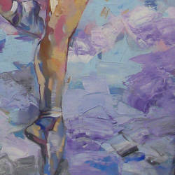 ballerina series, 24 x 42 inch, anindya mukherjee,24x42inch,canvas,paintings,figurative paintings,impressionist paintings,paintings for living room,acrylic color,GAL02161633394