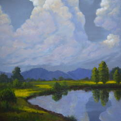 rainy clouds, 18 x 24 inch, chinmay bahulekar,18x24inch,canvas,paintings,landscape paintings,nature paintings | scenery paintings,realistic paintings,paintings for dining room,paintings for living room,paintings for bedroom,paintings for office,paintings for bathroom,paintings for kids room,paintings for hotel,paintings for kitchen,paintings for school,paintings for hospital,acrylic color,GAL0720433401