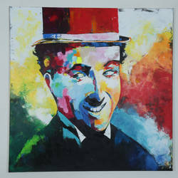 charlie, 4 x 4 inch, manjit  vani,4x4inch,canvas,paintings,portrait paintings,acrylic color,GAL02127433459