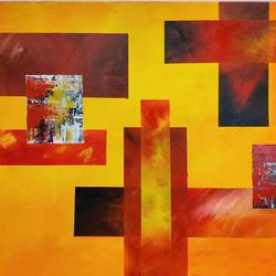 solar flare, 24 x 20 inch, sahil jain,24x20inch,canvas,paintings,abstract paintings,paintings for dining room,paintings for living room,paintings for bedroom,paintings for office,paintings for hotel,paintings for hospital,acrylic color,GAL02013833481
