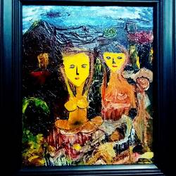 lesbian 001, 12 x 12 inch, inderjeet singh,12x12inch,canvas,paintings,abstract paintings,figurative paintings,paintings for dining room,paintings for living room,paintings for bedroom,paintings for office,paintings for bathroom,paintings for kids room,paintings for hotel,paintings for kitchen,oil color,GAL0571533489