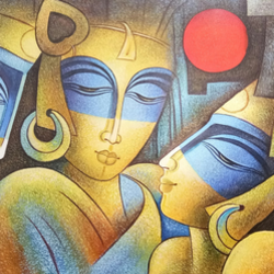 intimacy, 48 x 24 inch, shubham sheel gautam,48x24inch,canvas,figurative paintings,paintings for dining room,paintings for living room,paintings for bedroom,paintings for office,paintings for hotel,paintings for kitchen,paintings for dining room,paintings for living room,paintings for bedroom,paintings for office,paintings for hotel,paintings for kitchen,acrylic color,GAL02078833563